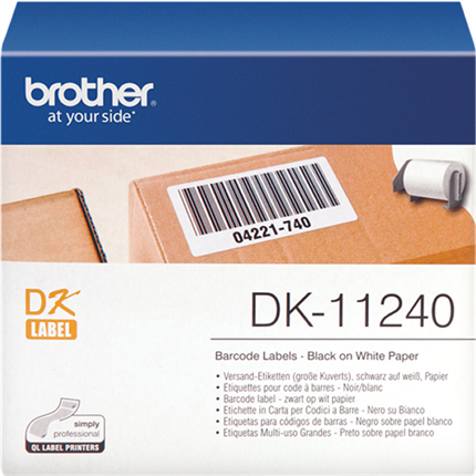 Brother DK-11240 etiquetas 51mm x 102mm original