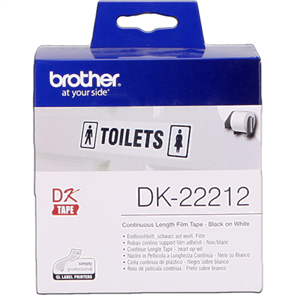 Brother DK-22212 Etiquetas Cinta continua, 62 mm x 15,24 m original