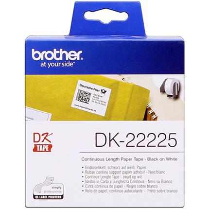 Brother DK-22225 Etiquetas Cinta continua, 38 mm x 30,48 m original