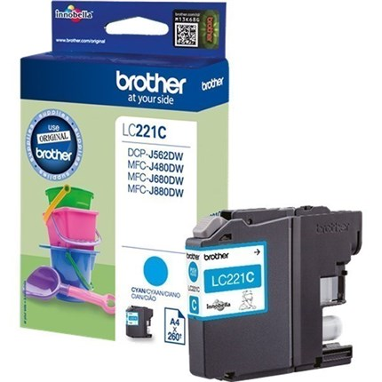 Brother LC221C tinta cian