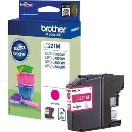 Brother LC221M tinta magenta