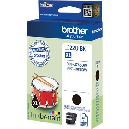 Brother LC22UBK tinta negro