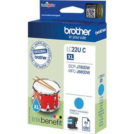 Brother LC22UC tinta cian
