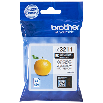Brother LC3211BK toner negro original