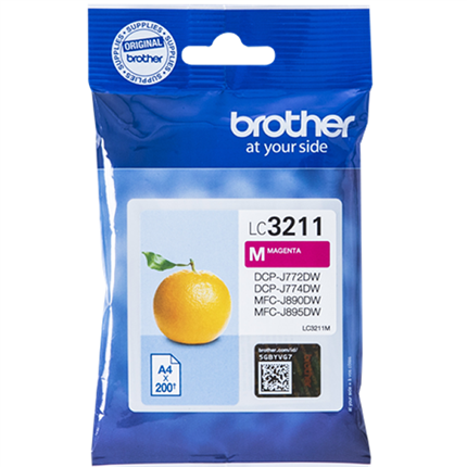 Brother LC3211M tinta magenta original