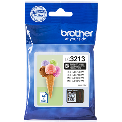 Brother LC3213BK tinta negro