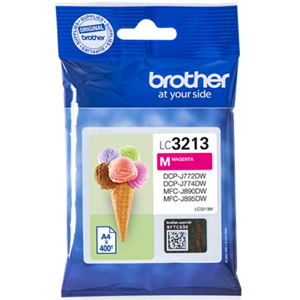 Brother LC3213M tinta magenta
