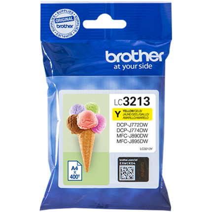 Brother LC3213Y tinta amarillo