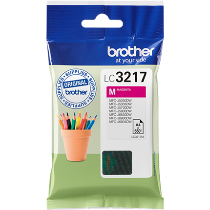 Brother LC3217M tinta magenta original