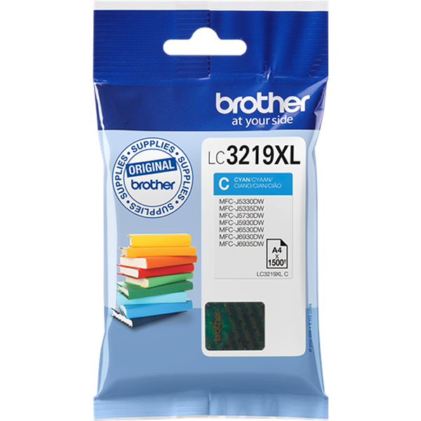 Brother LC3219XLC tinta cian