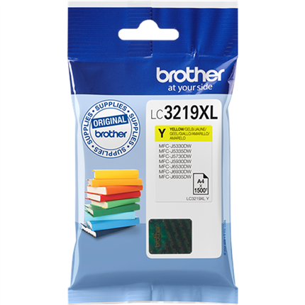 Brother LC3219XLY tinta amarillo original