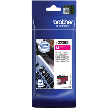 Brother LC3239XLM tinta magenta