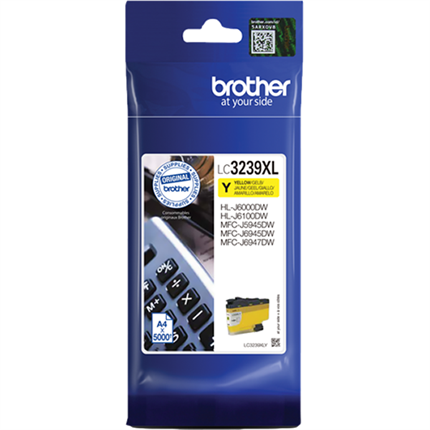 Brother LC3239XLY tinta amarillo