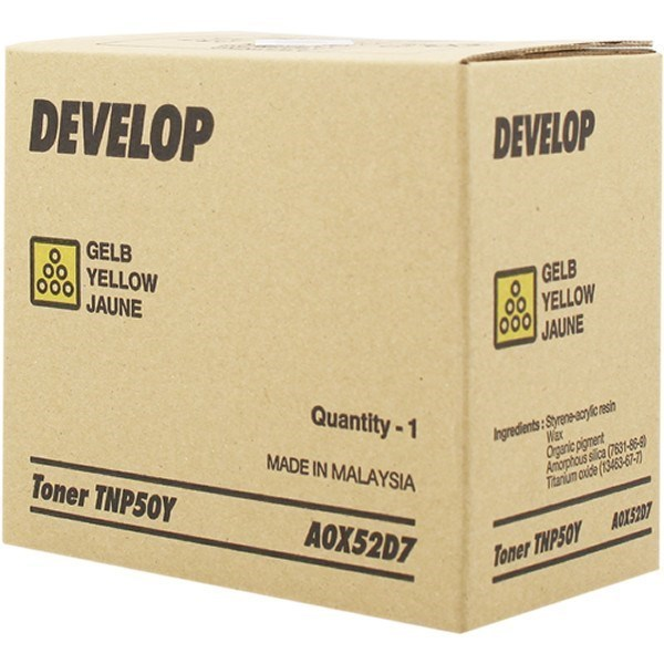 Develop A0X52D7 (TNP-50Y) toner amarillo