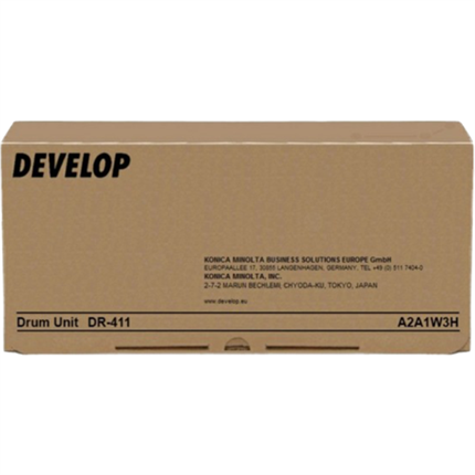 Develop A2A113H (DR-411) tambor negro original