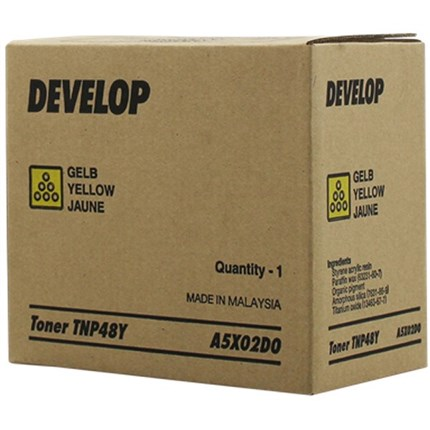 Develop A5X02D0 (TNP48Y) toner amarillo
