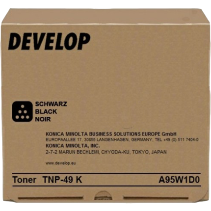 Develop A95W1D0 (TNP-49K) toner negro original