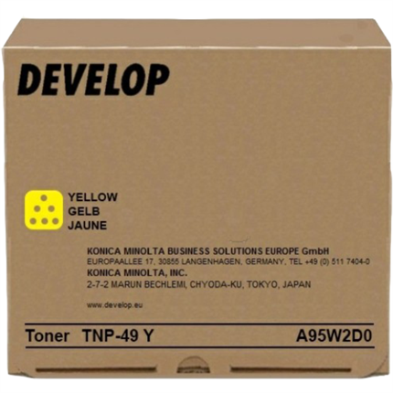 Develop A95W2D0 (TNP-49Y) toner amarillo original