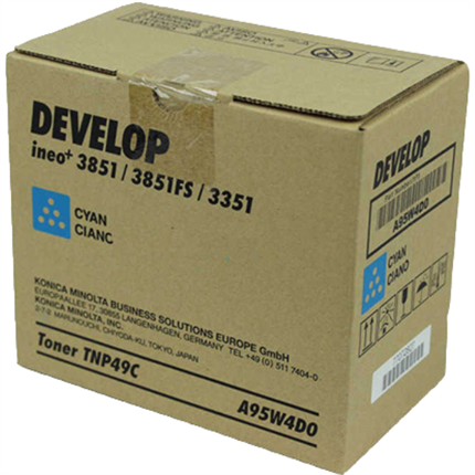 Develop A95W4D0 (TNP-49C) toner cian original