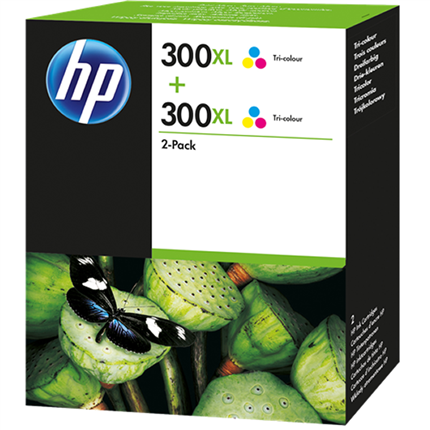HP 300XL - D8J44AE multipack color