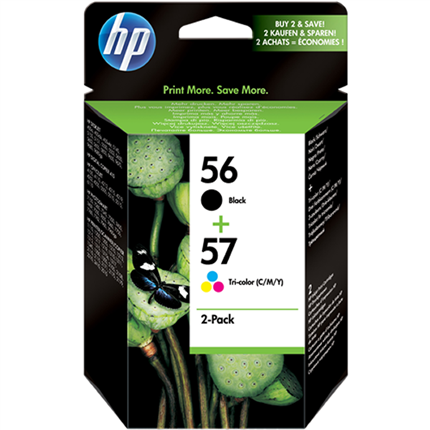 HP 56 + 57 - SA342AE multipack negro y colores