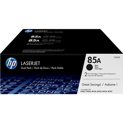 HP 85A - CE285AD multipack negro