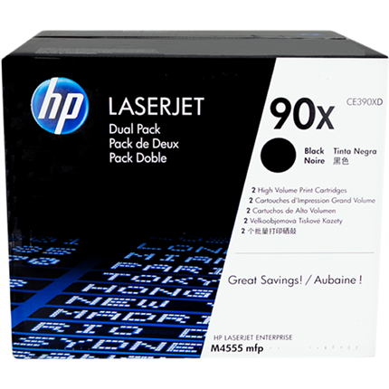HP 90XD - CE390XD multipack negro