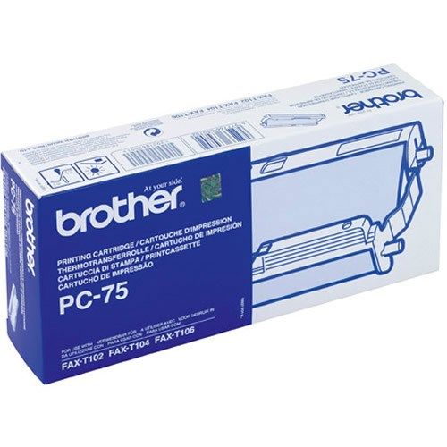 Brother PC-75 rollo transferencia termica