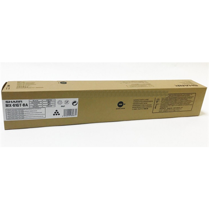 Sharp MX-61GTBA toner negro original