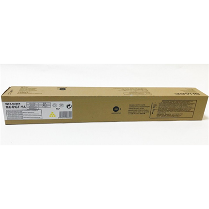 Sharp MX-61GTYA toner amarillo original