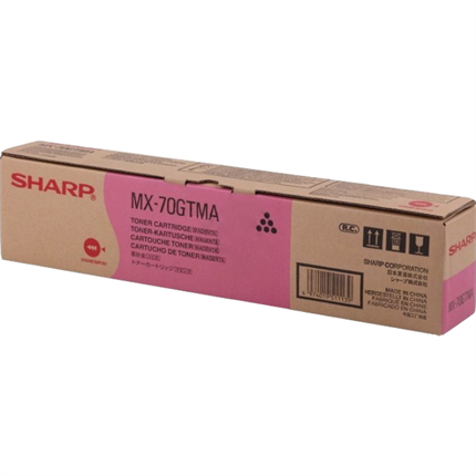 Sharp MX-70GTMA toner magenta