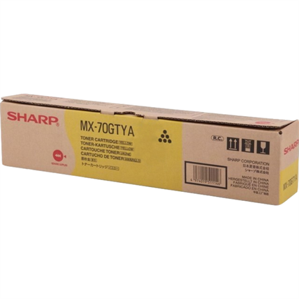 Sharp MX-70GTYA toner amarillo