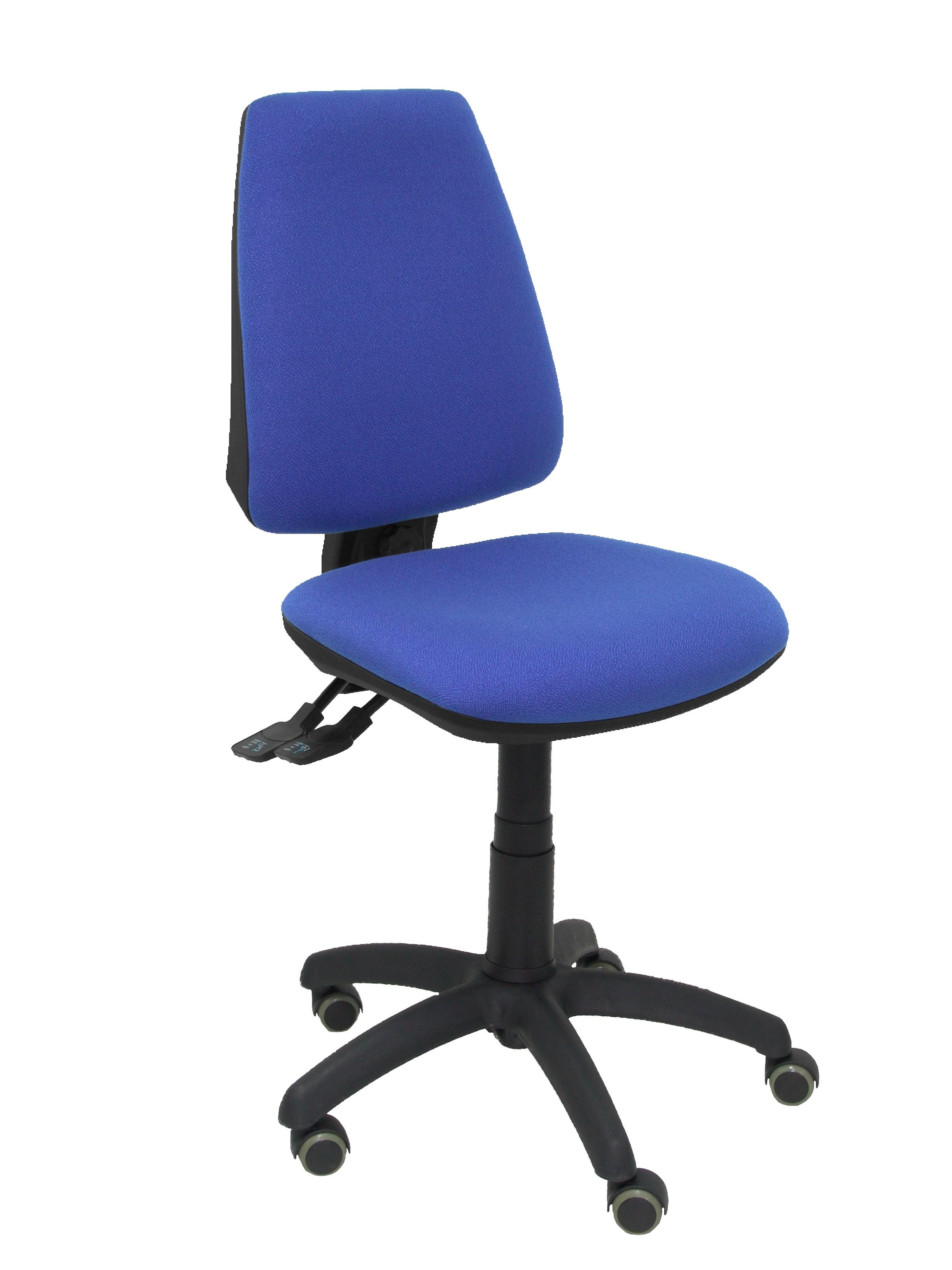 silla elche s bali azul ruedas de parquet