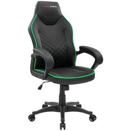 Silla Gaming Mars Gaming MGCX ONE/ Verde y Negra
