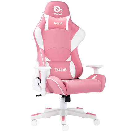 Silla gaming Talius Dragonfly white/pink