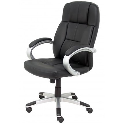 Sillon direccion Tobarra similpiel negro