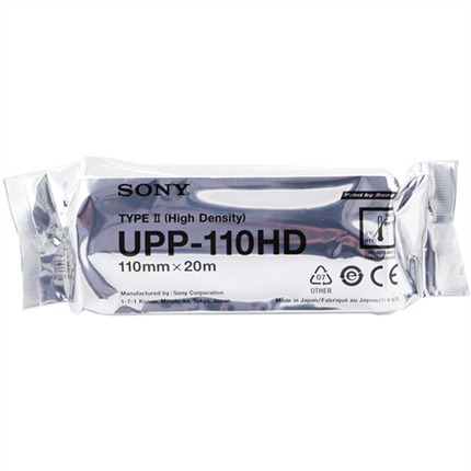 Sony UPP-110HD Thermopapier papel medico original