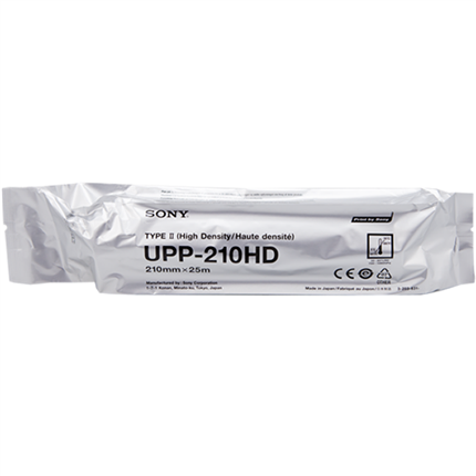 Sony UPP-210HD papel térmico, rollo, 210mm x 25m