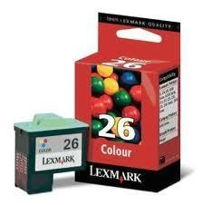 Lexmark 26 - 10N0026E tinta color