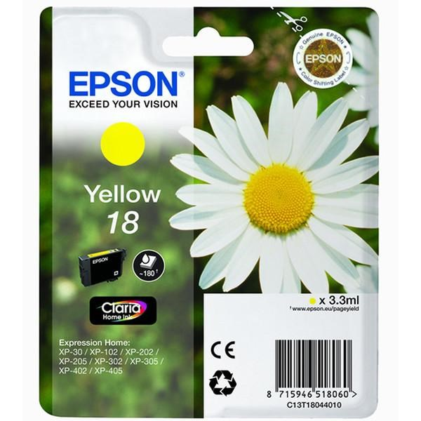 Tinta 18 Epson amarillo 3.3 ml