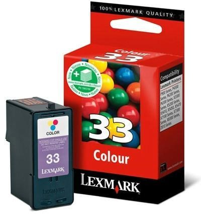 Lexmark 33 - 18CX033E tinta color