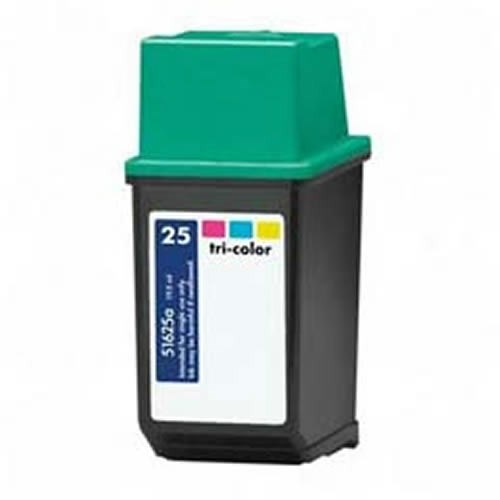 Tinta 51625A - 25 Hp compatible Hp color