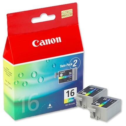 Tinta BCI-16CL Canon Color Pack 2