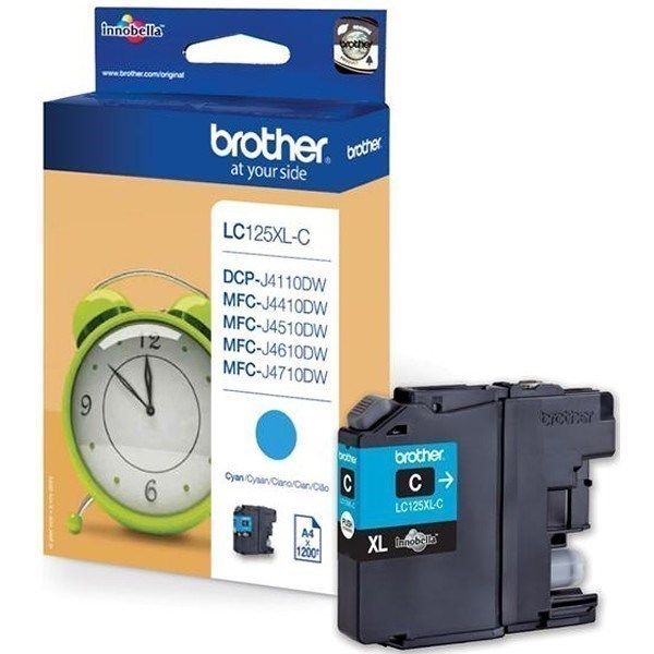 Brother LC125XLC tinta cian