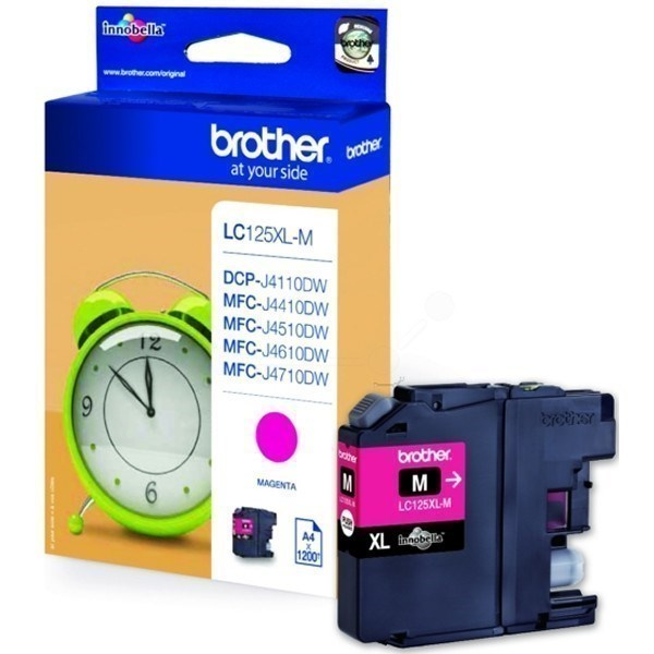 Brother LC125XLM tinta magenta