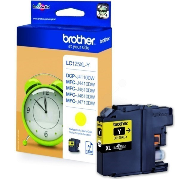 Brother LC125XLY tinta amarillo