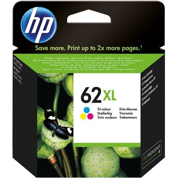 HP 62XL - C2P07AE tinta color
