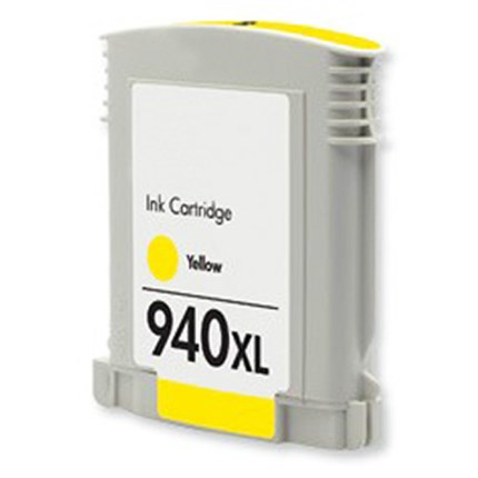 Tinta C4909AE - 940XL Hp compatible amarillo