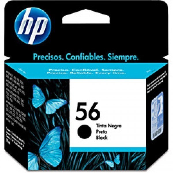 Tinta C6656GE - 56 Hp negro 4,5 ml