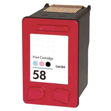 Tinta C6658AE - 58 Hp compatible color